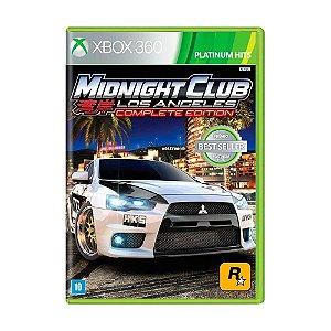 Jogo Midnight Club LA: Complete Edition X360 Usado
