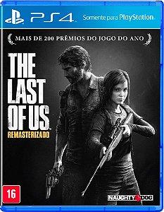 Jogo The Last Of Us Remasterizado PS4 Usado