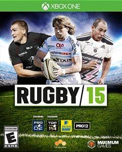 Jogo Rugby 15 Xbox One Usado