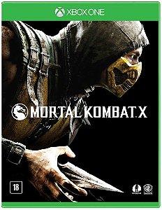 Jogo Mortal Kombat X Xbox One Usado
