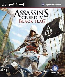 Jogo Assassins Creed IV Black Flag PS3 Usado