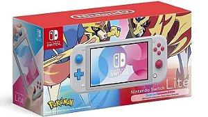 Console Nintendo Switch Lite Pokemon Sword/Shield Edition Novo