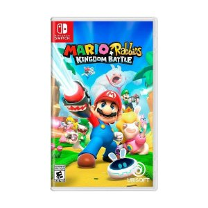 Jogo Mario Plus Rabbids Kingdom Battle Switch Novo