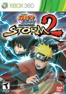 Jogo Naruto Shippuden Ultimate Ninja Storm 2 X360 Usado