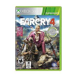 Jogo Far Cry 4 X360 Usado