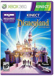 Jogo Kinect Disneyland X360 Usado