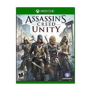 Jogo Assassin's Creed Unity Xbox One Usado