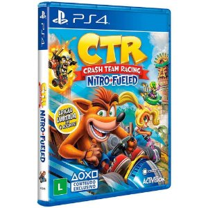 Jogo CTR Nitro Fueled PS4 Usado