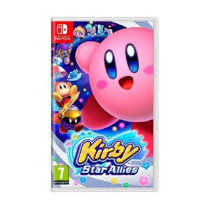 Jogo Kirby Star Allies Nintendo Switch Novo