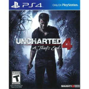 Jogo Uncharted 4 Thief`s End  PS4 Usado
