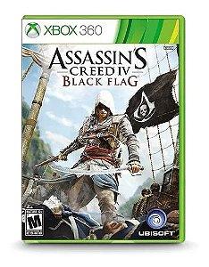 Jogo Assassins Creed IV Black Flag X360 Usado