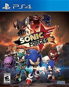 Jogo Sonic Forces PS4 - Usado