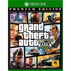 Jogo GTA V Xbox One Usado