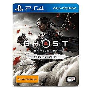 Ghost of Tsushima Edição Especial - PS4