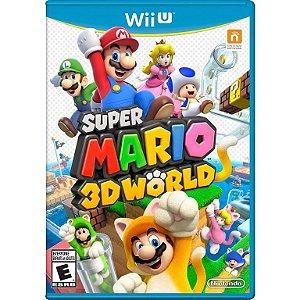 Jogo Super Mario 3D World Nintendo WiiU Usado