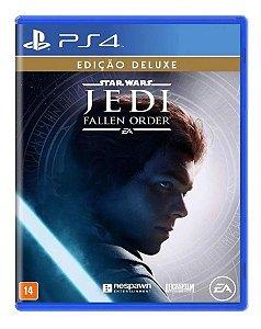 Star Wars Jedi Fallen Order Edição Deluxe - PS4