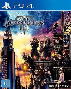 Jogo PS4 Usado Kingdom Hearts 3