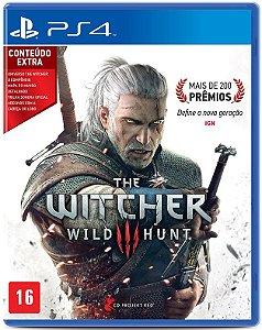 Jogo PS4 Usado The Witcher 3 Wild Hunt