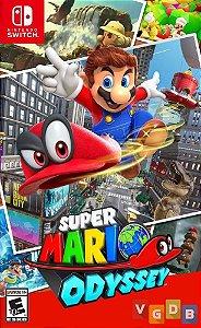 Jogo Super Mario Odyssey Nintendo Switch Usado