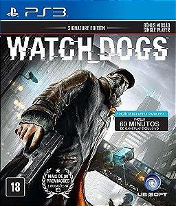 Jogo Watch Dogs PS3 Usado