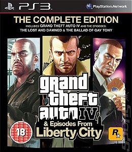 Jogo Grand theft Auto IV The Complete Edition PS3 Usado