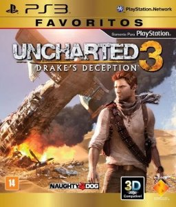 Jogo Uncharted 3 Drakes Deception PS3 Usado
