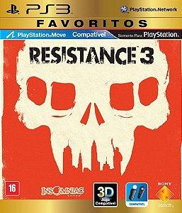 Jogo Resistance 3 PS3 Usado