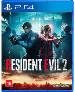 Jogo  PS4 Usado Resident Evil 2