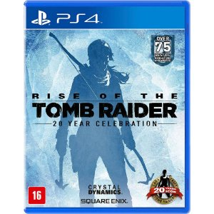 Jogo Rise of The Tomb Raider Usado PS4