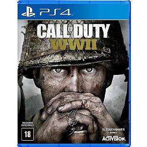 Jogo PS4 Usado Call of Duty WW II