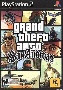 Jogo GTA San Andreas PS2 Usado