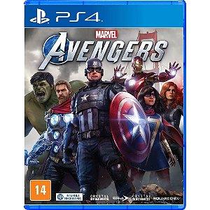 Jogo Marvel Avengers PS4 Novo