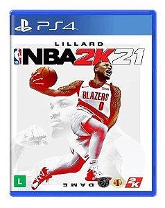 Jogo NBA 2K21 PS4 Novo