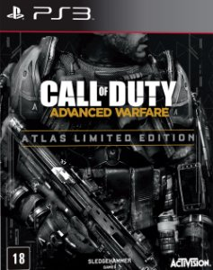 Jogo Call of Duty: Advanced Warfare Atlas Limited Edition PS3 Usado