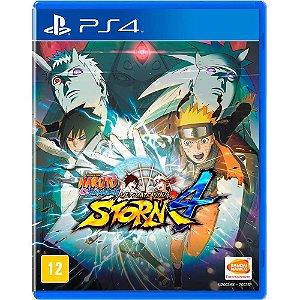 Jogo Naruto Ultimate Ninja Storm 4 PS4 usado