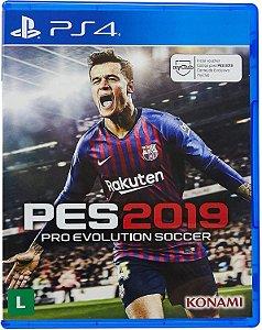Jogo PES 2019 PS4 Usado