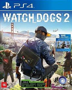 Jogo PS4 Usado Watch Dogs 2
