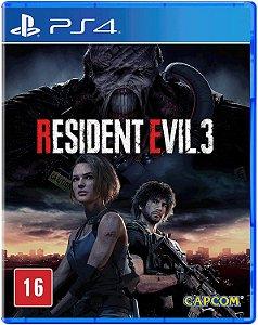 Jogo PS4 Novo Resident Evil 3