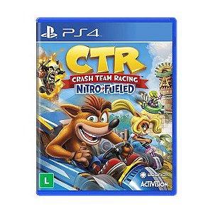 Jogo CTR: Crash Team Racing Nitro Fueled PS4 Novo