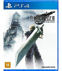 Jogo PS4 Novo Final Fantasy VII Remake