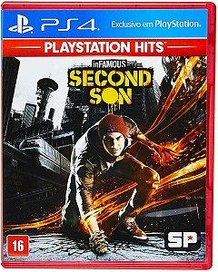 Jogo Infamous Second Son PS4 Usado