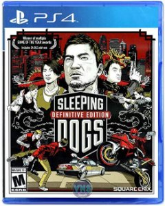 Jogo Sleeping Dogs: Definitive Edition PS4 Usado
