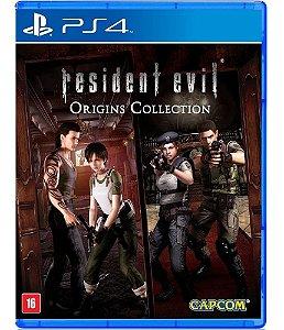 Jogo Resident Evil Origins Collection PS4 Usado