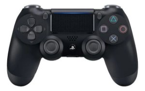 Periférico Dualshock 4 Jet Black PS4 Novo
