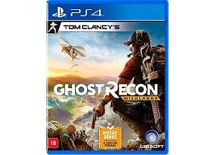 Jogo PS4 Usado Tom Clancy's Ghost Recon: Wildlands