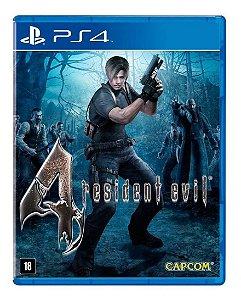 Jogo Resident Evil 4 PS4 Usado