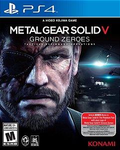 Jogo Metal Gear Solid V Ground Zeroes PS4 Usado