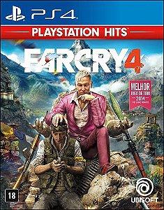 Jogo PS4 Usado Far Cry 4