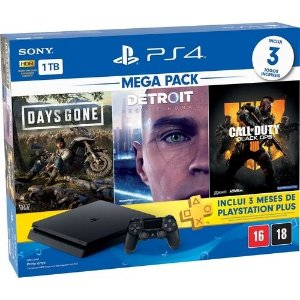 Console PS4 Slim 1TB Bundle V13 Usado