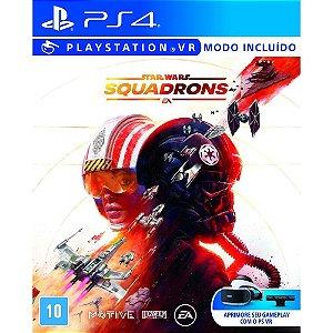 Jogo Star Wars Squadrons PS4 Novo